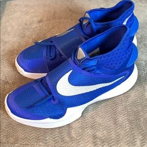 Nike Hyperrev Zoom Blue High-Tops Shoes 🏀